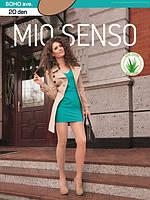 Капроновые колготки с гладкими и облегченными шортиками SOHO ave от ТМ Mio Senso