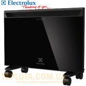 Конвектор электрический Electrolux ECH-G-1000E серия Crystal (черное стекло, колесная база в подарок)