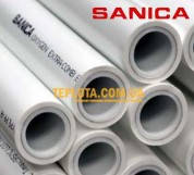 Труба SANICA PP-R COMBI PIPE PN25 D20 с внутренним слоем алюминия (цена за 1 м.п.)