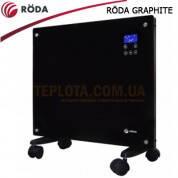 Конвектор электрический RODA GRAPHITE RG-1500 (черное стекло) - ПРЕДЗАКАЗ