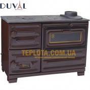 Твердотопливная печь DUVAL EK-102T (мощность 6 кВт)