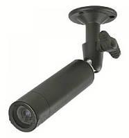 Мини-камера для внутреннего и наружного видеонаблюдения 820 ccд, цветная, матрица lg 420 tvl, питание 12в