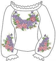 Заготовки для женской вышиванки крестом 003