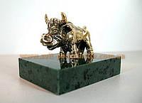 Оригинальная бронзовая статуэтка Бык в подарок