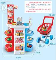 Детский супермаркет с тележкой 668 B