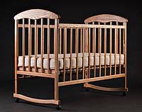 Кроватка детская Наталка ясень нелакированная(все функции)