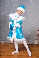 Детский новогодний костюм Снегурочка, размер 30-32