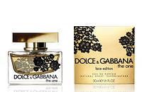 Женская туалетная вода Dolce&Gabbana The One Lace Edition (утонченный цветочно-восточный аромат)