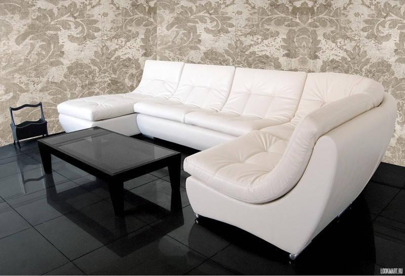Фото больших диванов