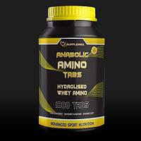 Гидролизат протеина 1250 грамм в таблетках Supplemax Anabolic Amino 1000 (1,25 кг) tab !
