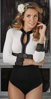 Нарядная блуза боди женское Viva la Donna комбидресс, блузка (Украина)