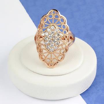 НОВИНКИ - Позолоченные кольца и серьги