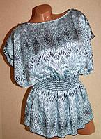 Блуза небесно-голубой  made in USA  (44-46-48 разм.)