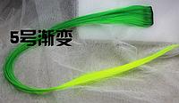 Новинка! Эксклюзивная цветная прядь градиент на заколке-клипсе, цвет №5