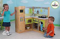 Дитяча дерев'яна кутова Кухня Kidkraft