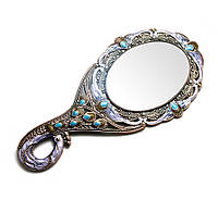 Зеркальце косметическое Павлин