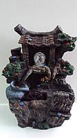 Фонтан декоративный для дома «Домик удачи» Габариты: 32х24х14 см