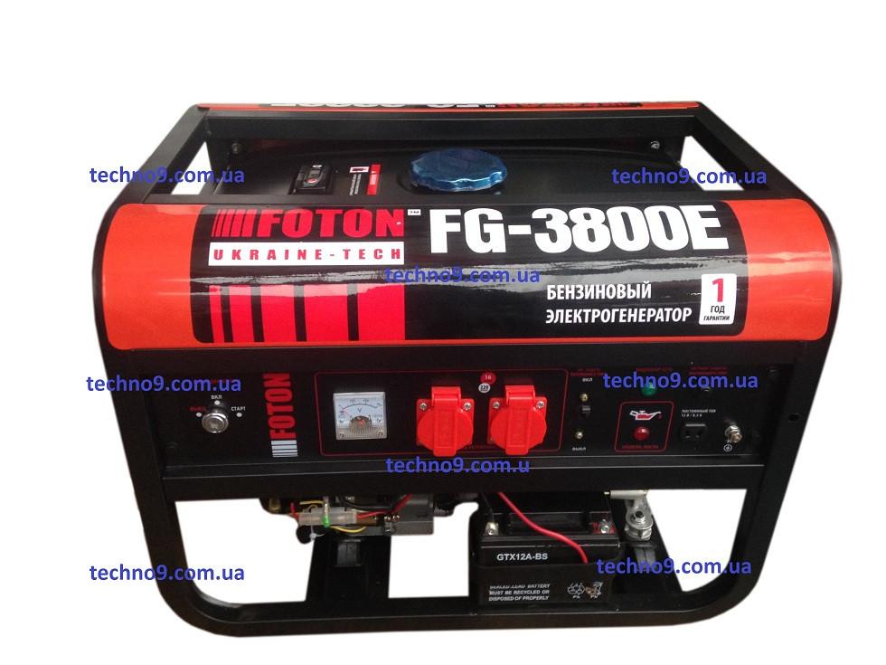 Бензиновый генератор FOTON