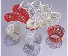 """Накладки для маффинов """"Ажурные ленты""""№102 10шт(золотой жемчуг)(код 03526)"""