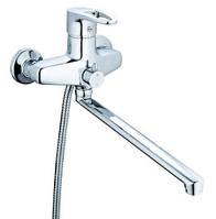 Смеситель для ванны Zegor Z65-NVL-A180