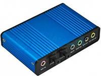 Usb аудио контроллер 5.1, внешняя звуковая карта, 6-ти канальный звук, аналоговая запись, cd с по, usb-шнур