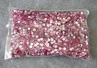 Камешки розовые фигурные 6 мм 250-270 гр