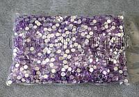 Камешки фиолетовые фигурные 6 мм 250-270 гр