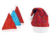 Новогодняя шапка Деда Мороза два цвета