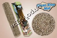 Супервпитывающий придверный коврик из микрофибры Clean Step Mat Клин Степ Мат