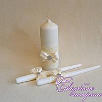 """Набор свадебных свечей """"Семейный очаг"""" №9"""