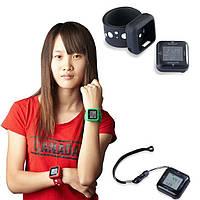 3D Профессиональный шагомер наручные часы PDM2610 +USB (Цвет: черный, красный, синий, зелёный, желтый)