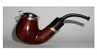 Курительная трубка B&B №018А, груша, фильтр 9мм, с крышкой