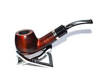 Курительная трубка B&B №019, груша, фильтр 9мм