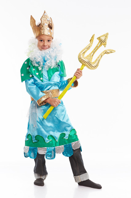 Новогодний костюм для мальчика царь своими руками