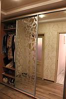 Шкаф купе 3х-дверный готовый ширина 2200мм, глубина 450мм, высота 2100мм. Одесса