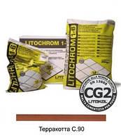 Затирка LITOCHROM 1-6 С.90 терракотовый (5 кг)