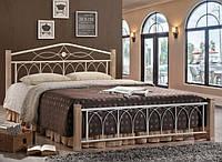 Кровать Миранда М двуспальная крем (160х200)  (Domini TM)