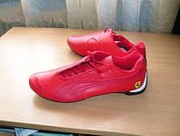 Стильные мужские кроссовки puma, красные / черные, кожаные, удобная обувь для мужчин, разные размеры