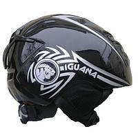 Шлем зимний Iguana black IKVZ500