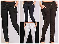 Модные удобные женские лосины брюки , размеры норма и батал