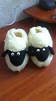 Тапочки комнатные из овчины