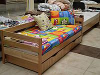 Кровать подростковая буковая Нота