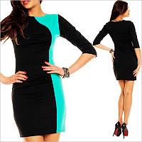 Прямое платье черного цвета, платье для модниц