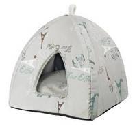 Домик для собаки Trixie Paris 42*37*42см серый (36340)