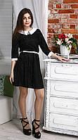 """Платье """"Мария"""" гипюр с рукавом, размеры 42, 44, 46."""