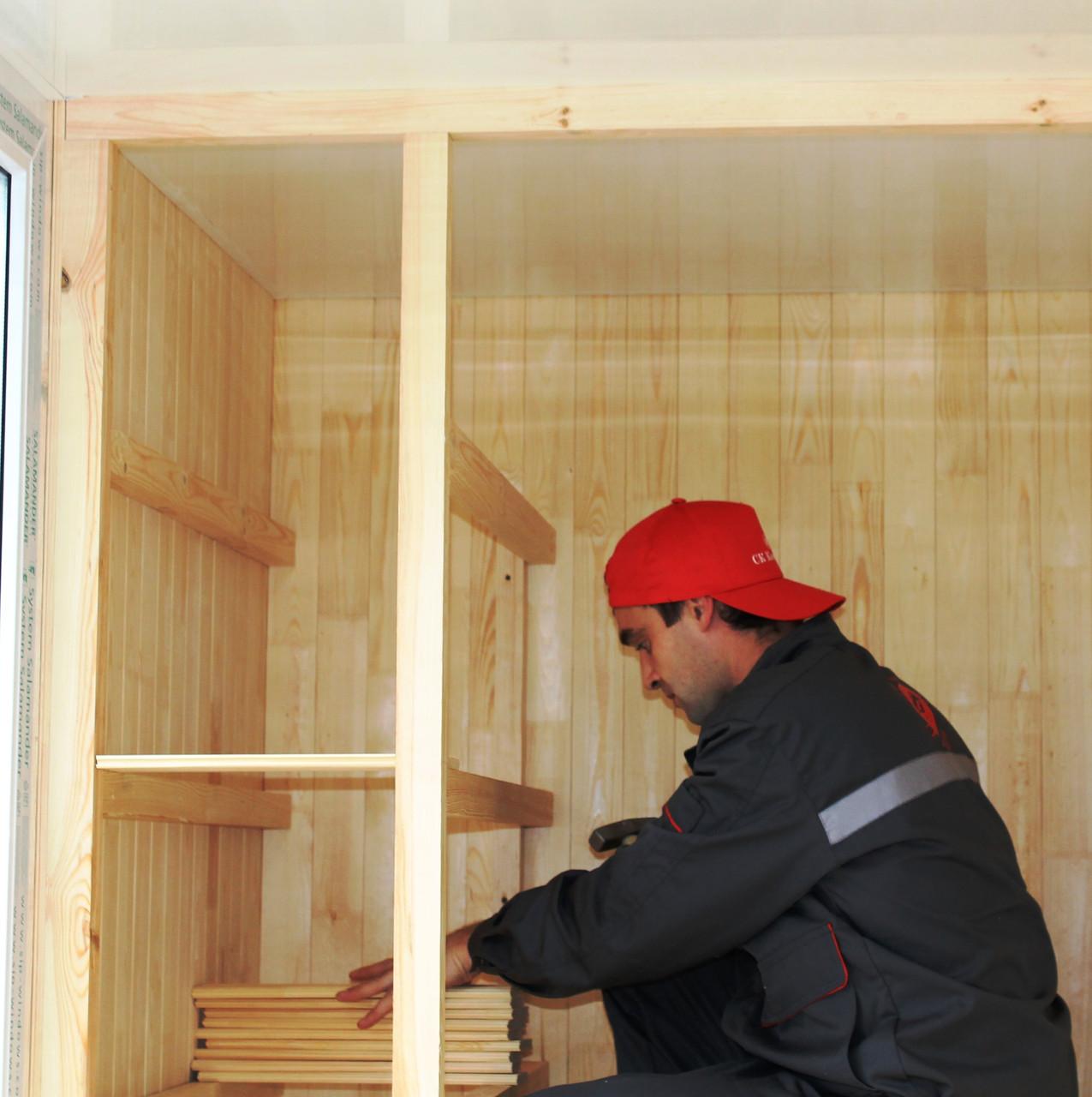 Как сделать шкаф на балкон из вагонки: подробная инструкция.