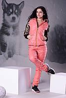 Спортивный костюм с эмблемой леопарда