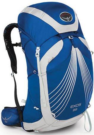 Туристический рюкзак Osprey Exos 38 синий