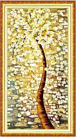 """Алмазная мозаика """"Волшебное золотое дерево"""""""