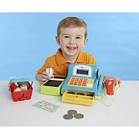 Детский кассовый аппарат с набором продуктов (супермаркет). Из США.